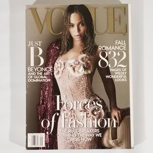 Vogue Magazine Featuring Beyoncé